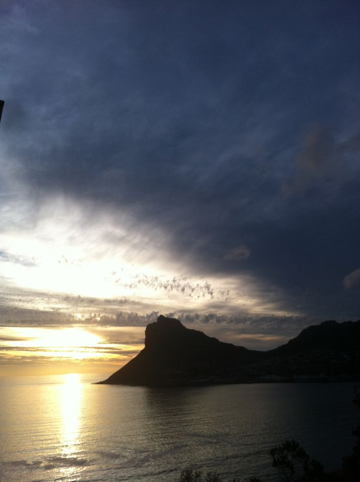 The Sentinal - Hout Bay, Cape Town.  Driving along Chapman's peak