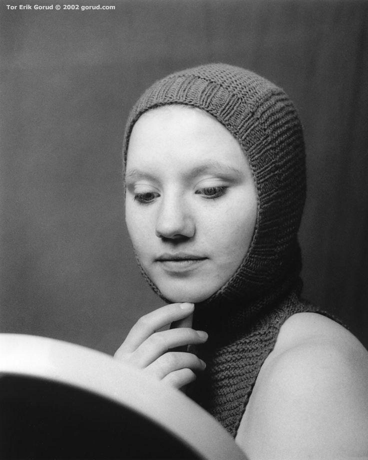 Girl with mirror [2002] by GORUD.deviantart.com on @deviantART #Photography #BW #Art #Portrait
