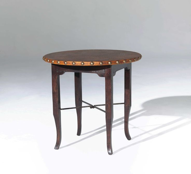 (Option Between Two Chairs In Living Room) 5415 ROUND END TABLE WITH  LEATHER TOP