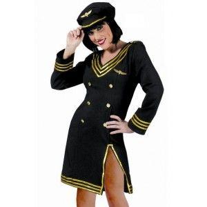 Déguisement pilote femme pas chère, Déguisement pilote de ligne femme sexy