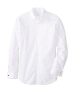 42% OFF Calvin Klein Men's Regular Fit Spread Collar Dress Shirt