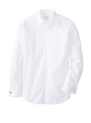 42% OFF Calvin Klein Men's Regular Fit Spread Collar Dress Shirt