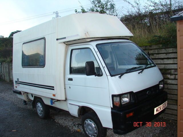 reduced very rare daihatsu hijet romahome 1 2 diesel small campervan daihatsu. Black Bedroom Furniture Sets. Home Design Ideas