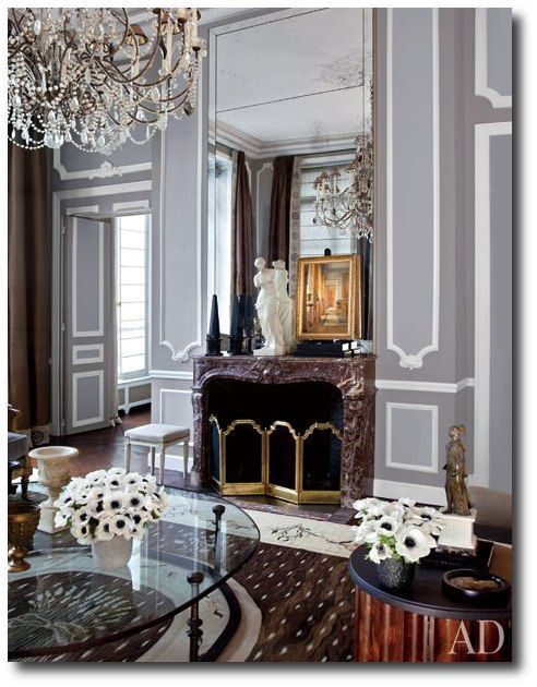 Decorator Jean-Louis Deniot- French Interiors, French Furniture, Paint  Finishes, French