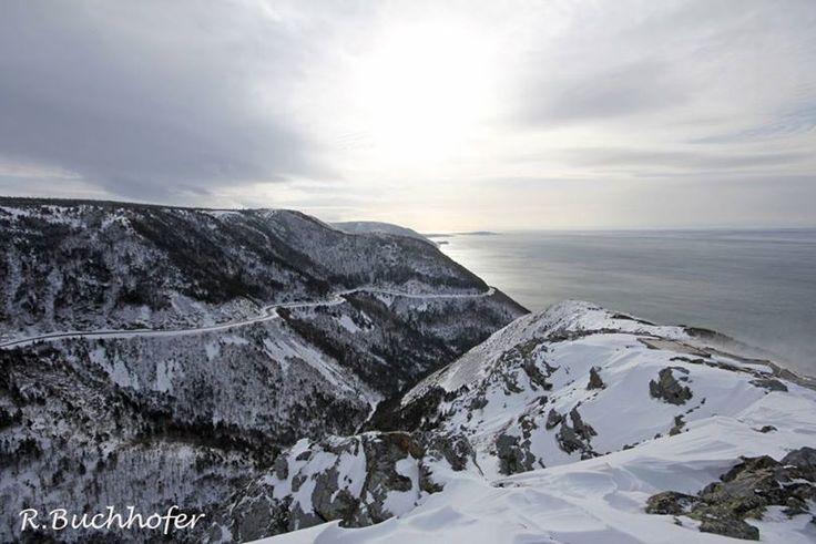Cape Breton Island winter