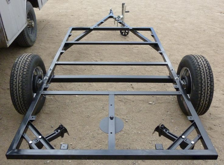 Excellent Here39s A Photo Of The Trailer Frame With The Camper Superstructure