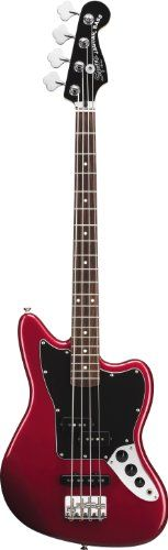 Squier by Fender Vintage Modified Jaguar Special Short Scale Bass, Candy Apple Red - http://www.learntab.com/guitar-deals/squier-by-fender-vintage-modified-jaguar-special-short-scale-bass-candy-apple-red-3/