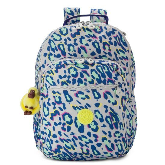 SEOUL PRINT BACKPACK WITH LAPTOP PROTECTION - Kipling