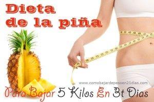 Dieta De La Piña – Para Bajar 5 Kilos En 3 Dias
