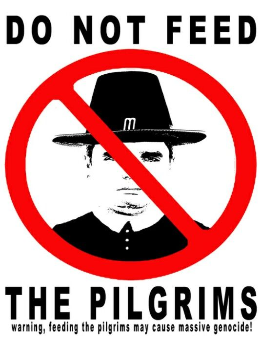 Indigenous Apparel: Do Not feed the pilgrims