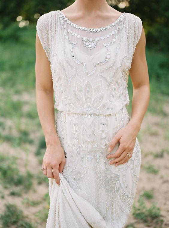 28 Funkelnden Art-Deco-Stil Hochzeit Kleider – ModeKreativ – Hochzeitkleid