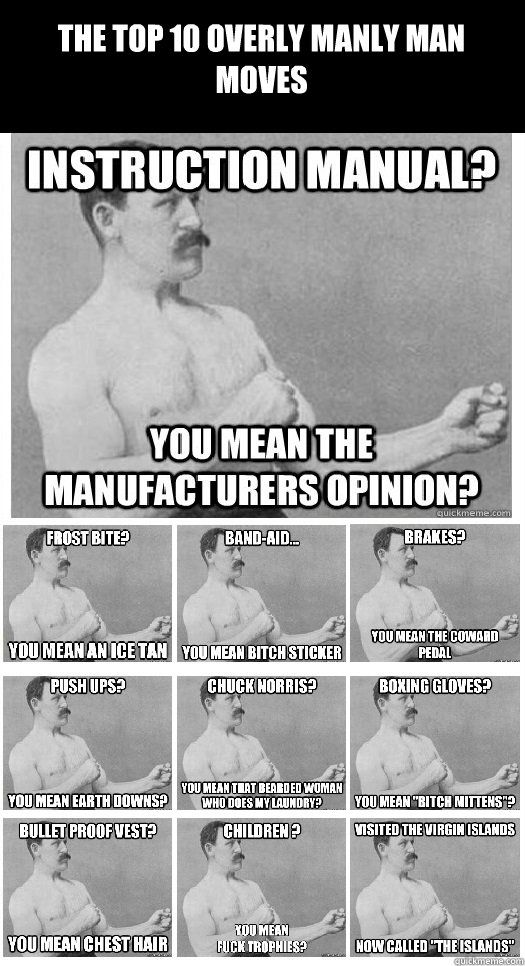 Overly Manly Men