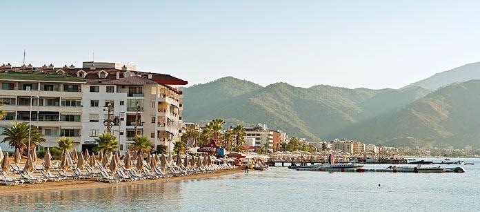 Marmaris, en av pärlorna på den turkiska medelhavskusten.