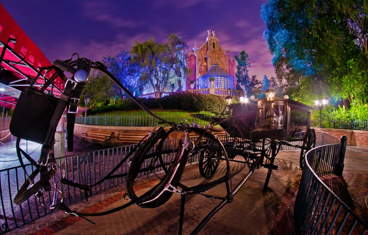The Haunted Mansion is a spooky tour of an ominous haunted house in Liberty Square at Magic Kingdom theme park, where a supernatural Ghost Host introduces you to his closest 999 dearly-departed friends.