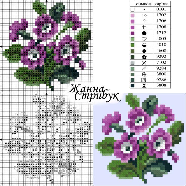 (39) Gallery.ru / Фото #118 - small маленькие схемы - pustelga