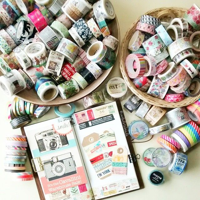 carladetaboada: Washi Tape: Well I might have a slightly obsession with #washis Here is a part of my collection! I have got them from different sellers on Etsy, eBay and IG. Some of my favorite shops are @happiescrappie, @davaoarts, @geluk0193 and @_sakuralala_ And they all ship worldwide! #JanPlannerChallenge
