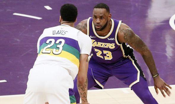 f63180f50ad8 Lakers news  Anthony Davis BOMBSHELL LeBron James sent devastating trade  update