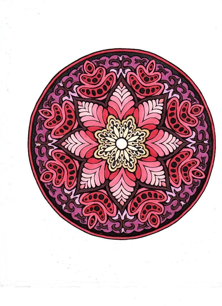 Mystical Mandala Coloring Book (Dover Design Coloring Books): Alberta Hutchinson: 0800759456949: Amazon.com: Books