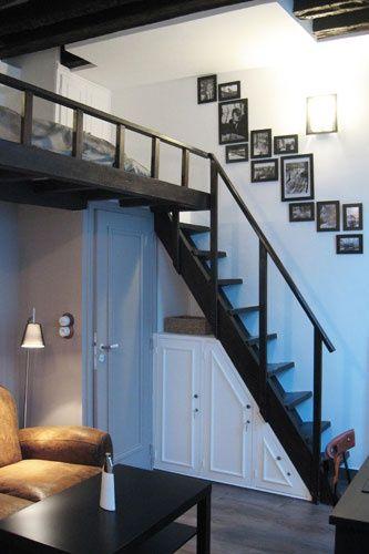 Best 25 Loft Bed Studio Apartment Ideas On Pinterest