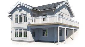 Personliga & traditionella hus - Planlösning villa - EkeforsHus AB