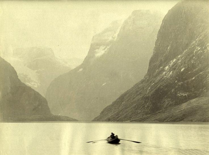 Norway, Nordfjord, Loenvandet 1890 (by BSMK1SV)