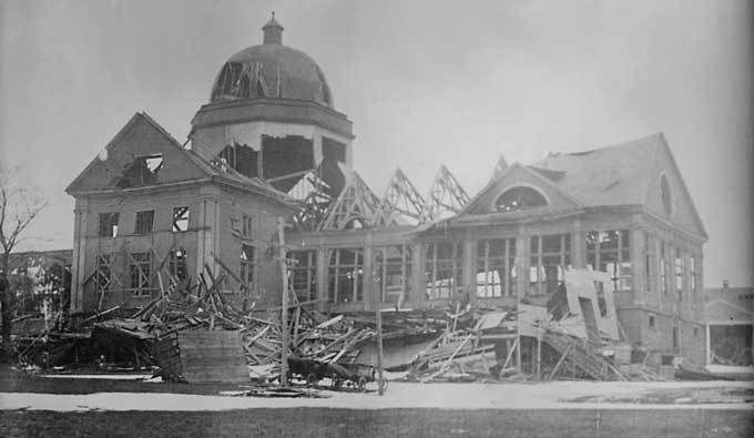 The Day The World Stood Still in Halifax Nova Scotia