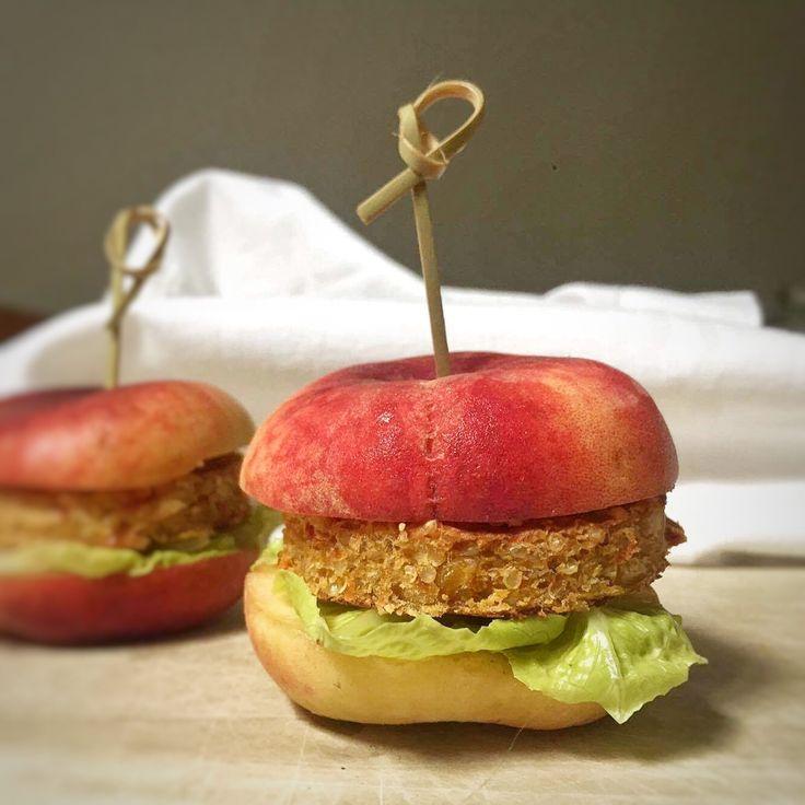 Hamburger di pesca con peperoni e quinoa - di Monica Bergomi #fuudly #ricette