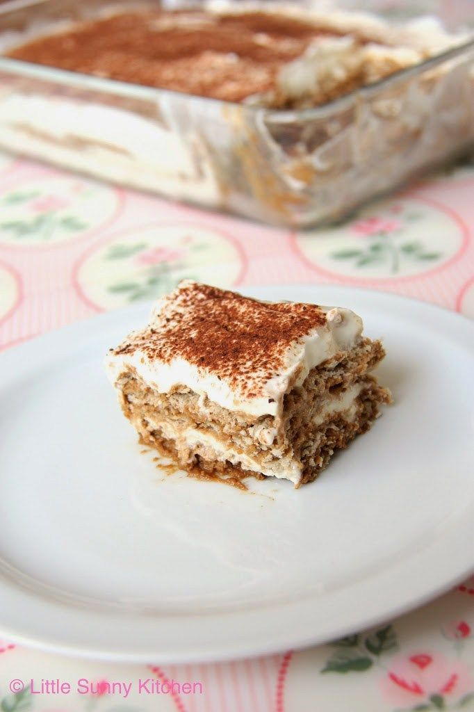 Easy no-bake nescafe cake! This is a middle eastern dessert and only needs 4 ingredients to make!