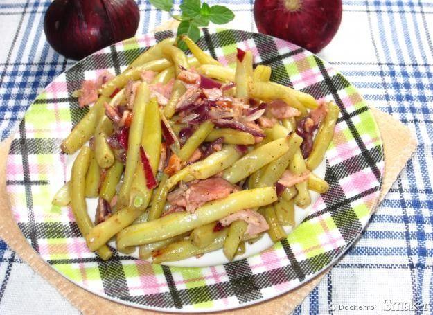 Fasolka Szparagowa Duszona Z Czerwona Cebulka I Szynka Przepis Ze Smaker Pl Recipe Culinary Recipes Recipes Food
