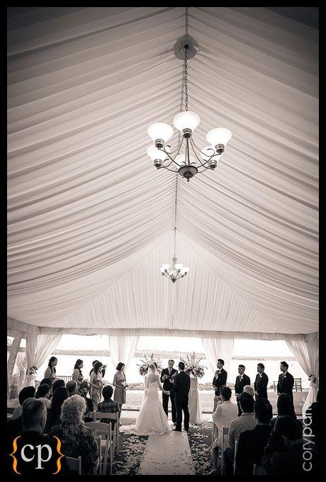 Waterfront Wedding Tent In Kirkland Washington At The Woodmark Hotel