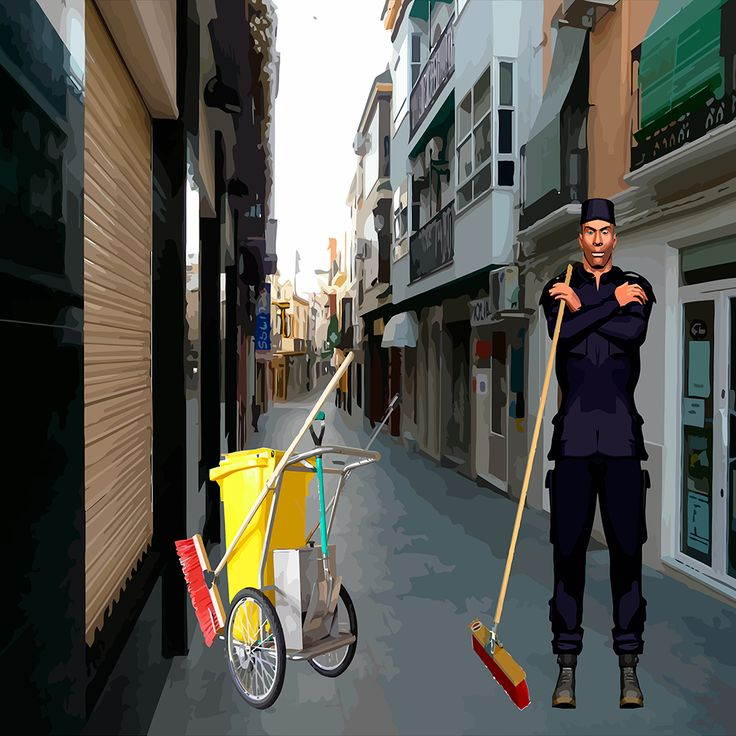 Sweeper is a very addictive and entertaining game.  Get ready to jump, dodge and pick up all the trash bags.