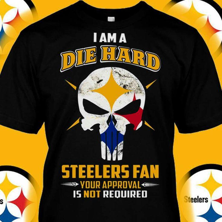 Die hard Pittsburgh Steelers fan
