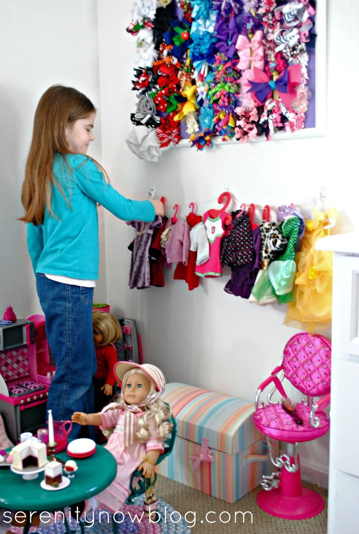 How to make christmas decorations for your ag doll - Make Your Own Clothesline Display For American Girl Doll Clothes From Serenity Now
