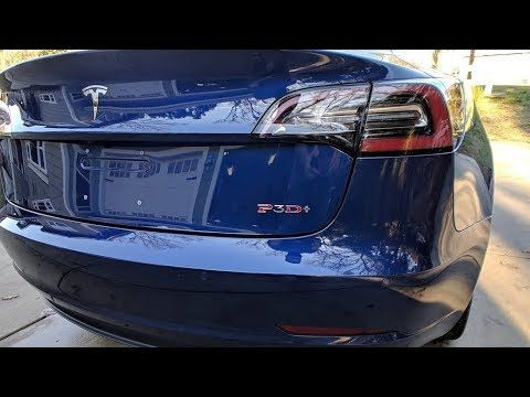 DIY Tesla Model 3 Badge Installation P3D+ from Abstract