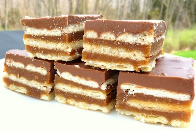 Homemade Kit Kats via Kathie Cooks