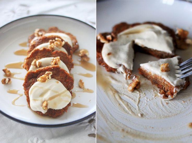 25+ bästa Carrot cake pancakes idéerna på Pinterest