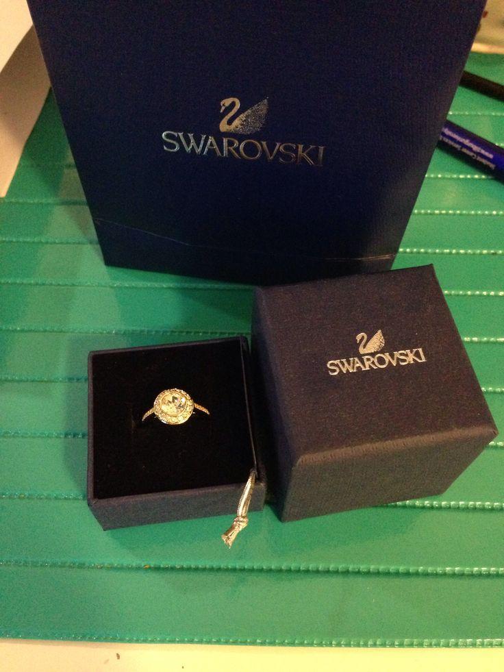 Swarovski ring. Angel edition