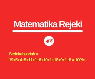 Positive share from Social Media: MATEMATIKA REJEKI