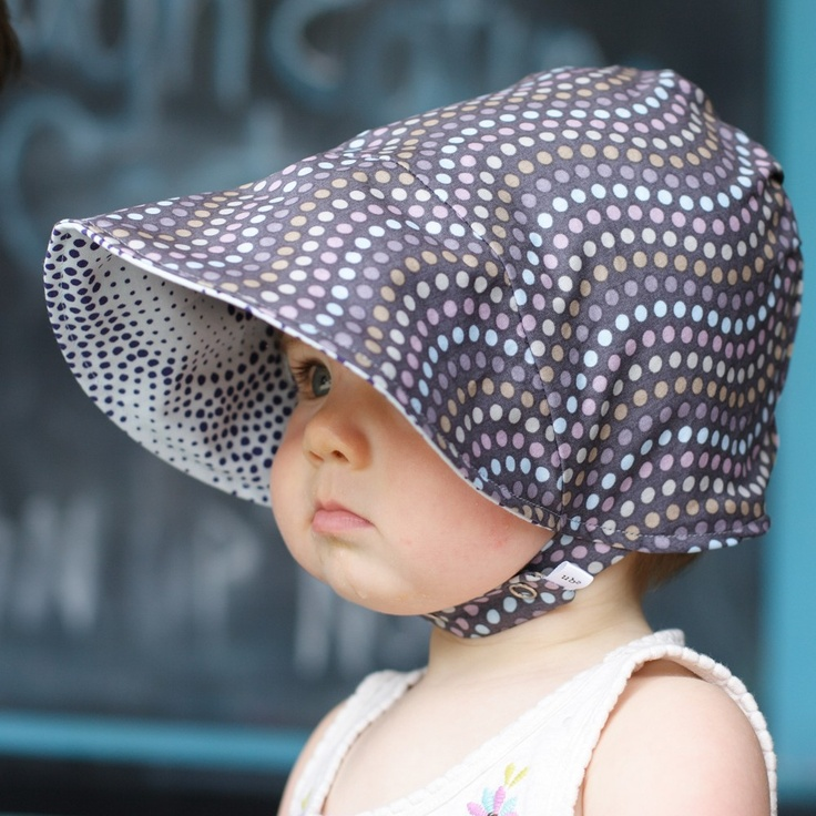 Urban Baby Bonnets - tons of great fabric options. Also custom made hats