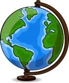 Cartoon Desk Globe Royalty Free Cliparts, Vectors, And Stock Illustration. Image 12480565.