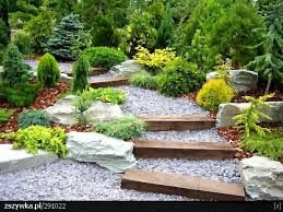 Znalezione obrazy dla zapytania projekt małego ogrodu
