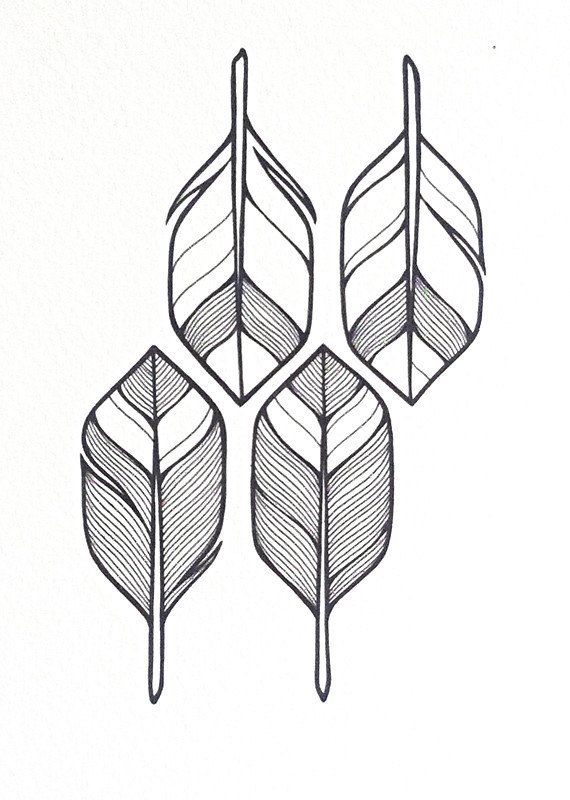 Drawing Lines With Arrows In Photo : Arrows illustration made to order geometric pattern