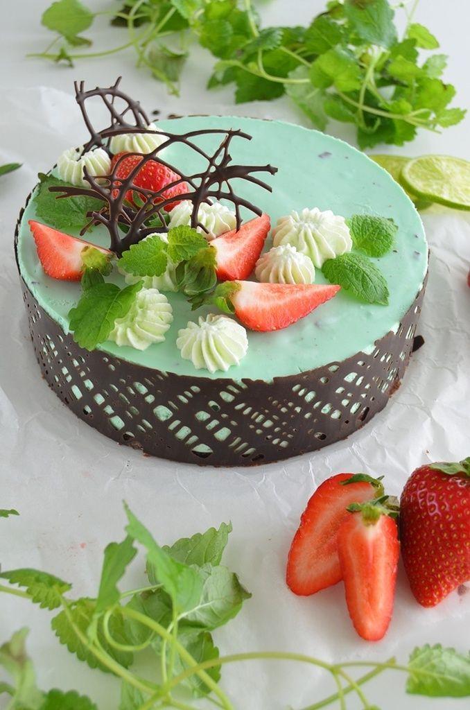 Rakkaudesta ruoanlaittoon: MINTTUSUKLAAJUUSTOKAKKU #suklaa #juustokakku