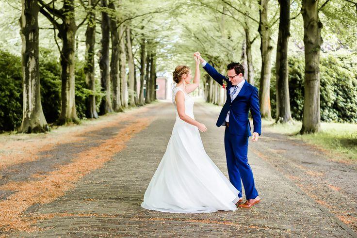 Bruidreportage op landgoed Elswout. Fotografie: Happy Photographer