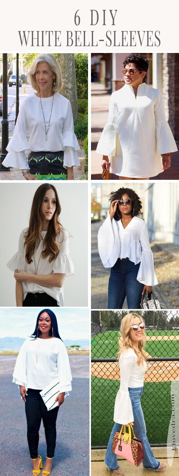 If you're wanting to sew bell-sleeves, get inspired by these bell sleeves sewn by these seamstresses and view sewing patterns used.