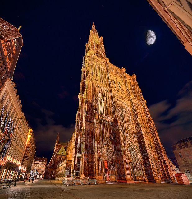 Cette magnifique cathédrale Strasbourg - France