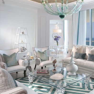 Teal Glamour