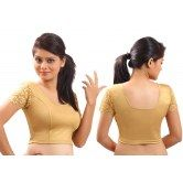 gold-lycra-stretchable-blouse-crop-top-l-from-muhenera-a11l
