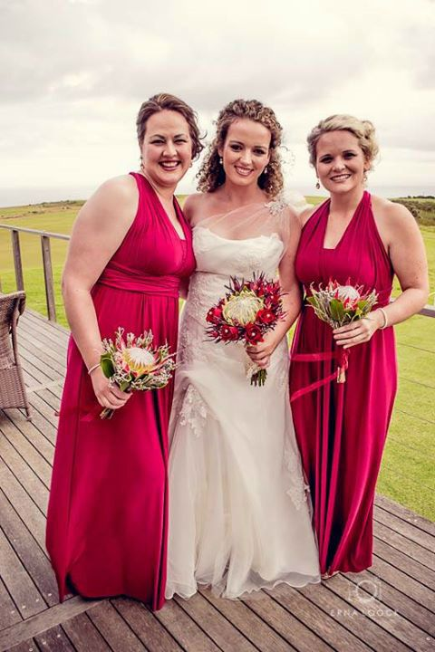 Bride and bridesmaids Make Up/Hair