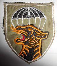 CTZ 1 - RED TONGUE PATCH - ARVN, Airborne Camp Stirke Force - Vietnam War - 704